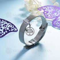 pulsera de charm en acero inoxidable para mujer -SSBTG142-16143-S