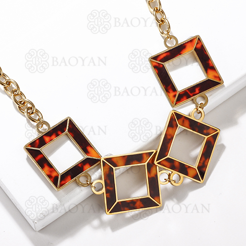 collares de acero inoxidable -SSNEG143-13731