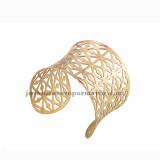 pulsera de malla de oro rosado en acero inoxidable para mujer-SSBTG213215