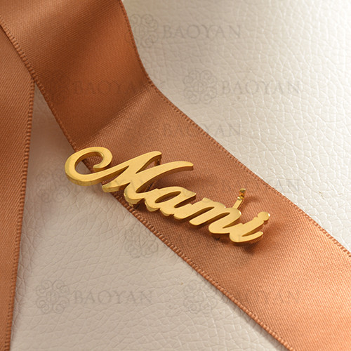 charms de acero inoxidable para pulsera -SSPTG142-16178-G
