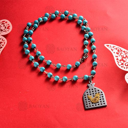 Collar de Acero Inoxidable -SSNEG147-12128