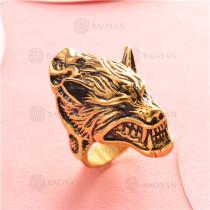 anillo de acero inoxidable para hombre -SSRGG97-2338
