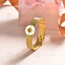 pulsera de charm en acero inoxidable para mujer -SSBTG142-16138-G