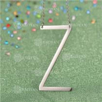 Collar de Inicial Letra para MujerSSNEG81-4647