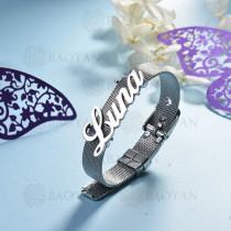 pulsera de charm en acero inoxidable para mujer -SSBTG142-16128-S
