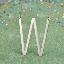 Collar de Inicial Letra para MujerSSNEG81-4644