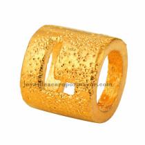 abolarios de  letra  L  dorado oro laminado-BRPTG90056