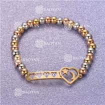 Pulsera con Bolitas Oro Dorado Para Mujer -SSBTG95-6300