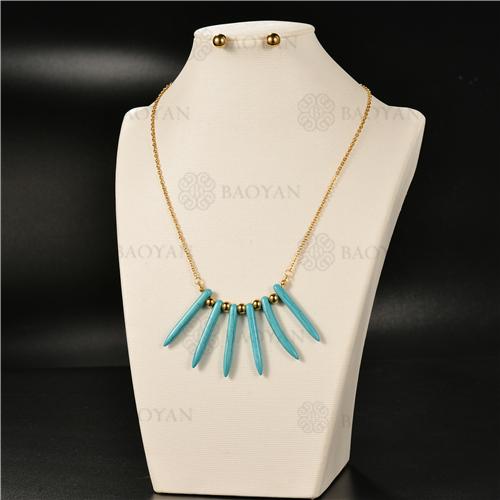 Collar Multicapa en AceroSSNEG126-4938