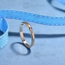 anillos de acero inoxidable para mujerSSRGG175-15689