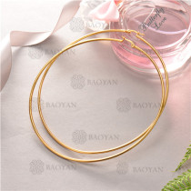 aretes de joyas acero inoxidable -SSEGG16-6353