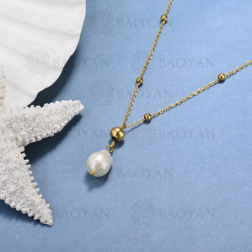 collar de perlas cultivadas -SSNEG142-15562