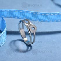 anillos de acero inoxidable para mujerSSRGG175-15690