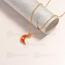 collar en oro golfi en bronce -BRNEG154-14894