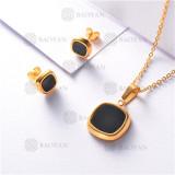 conjunto de dorado en acero inoxidable-SSNEG126-9900