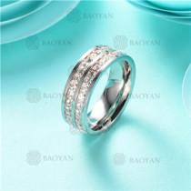 anillo de piedra en acero inoxidable-SSRGG80-2470