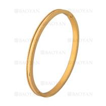 pulsera dorado rayas brillo en acero inoxidable -SSBTG1225551