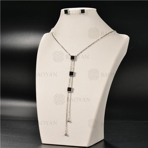 Collar Multicapa en AceroSSNEG126-4922