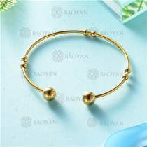 pulsera dorado en acero inixidable-SSBTG26-9134