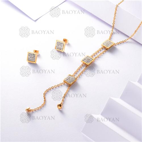 conjunto de dorado en acero inoxidable-SSNEG126-9896