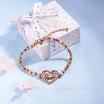pulsera de Acero Inoxidable multicolor para Mujer -SSBTG142-14699