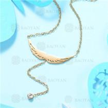 Collar de Acero Inoxidable -SSNEG129-7540