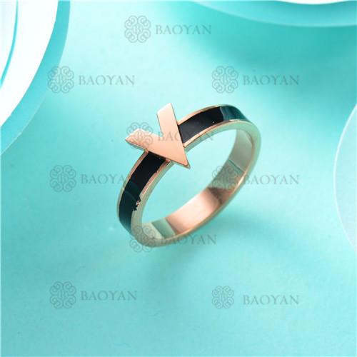 anillo moda en acero inoxidable-SSRGG80-2483