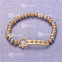 Pulsera con Bolitas Oro Dorado Para Mujer -SSBTG95-6304