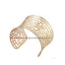 pulsera de estilo especial en acero rosado inoxidable para mujer -SSBTG213435