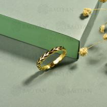 anillos de acero inoxidable para mujer -SSBTG40-15284