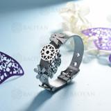 pulsera de charm en acero inoxidable para mujer -SSBTG142-16165-S