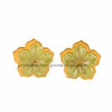 zarcillos-de-goldfield de flor de moda en acero inoxidable -SSEGG492141