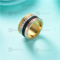 anillo de piedra en acero inoxidable-SSRGG80-2474