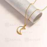 collar en oro golfi en bronce -BRNEG154-14889