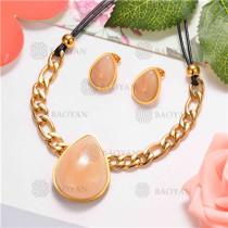 Collar de Acero Inoxidable -SSNEG126-7701