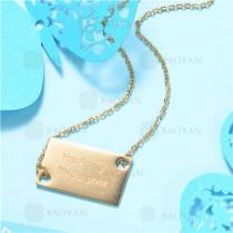 Collar de Acero Inoxidable -SSNEG129-7532