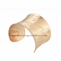 pulsera de image elefante en acero rosado inoxidable para dama -SSBTG213399
