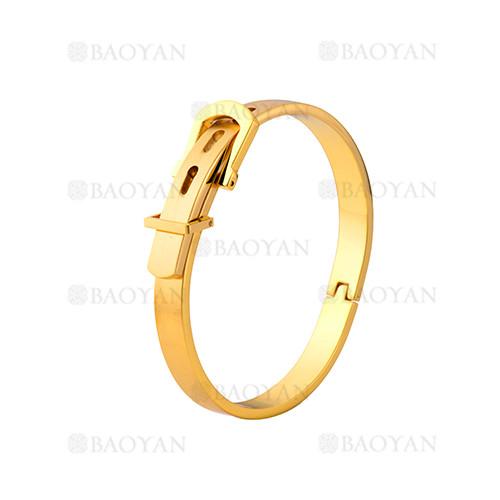 pulsera de moda de dorado en acero inoxidable-SSBTG1225014