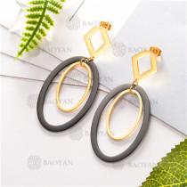 Pendientes de joyas acero inoxidable -SSEGG80-6289