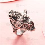 anillo de acero inoxidable para hombre -SSRGG97-2339