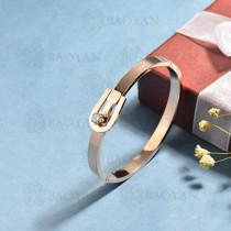 pulsera de acero inoxidable para mujer -SSBTG174-15348