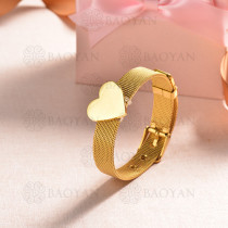 pulsera de charm en acero inoxidable para mujer -SSBTG142-16137-G