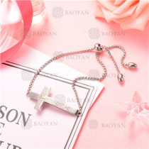 Pulsera de Acero Inoxidable para Mujer -SSBTG126-8217