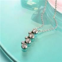 collar de acero inoxidable-SSNEG143-10167