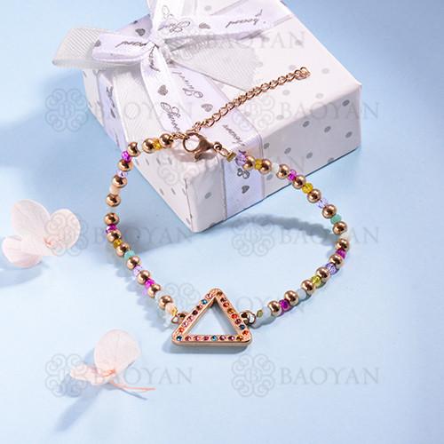 pulsera de Acero Inoxidable multicolor para Mujer -SSBTG142-14695