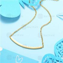 Collar de Acero Inoxidable -SSNEG129-7564