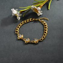 pulsera de acero inoxidable para mujer -SSBTG95-15271