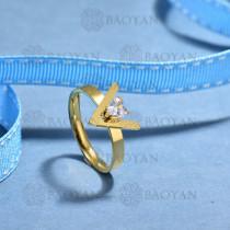 anillos de acero inoxidable para mujerSSRGG175-15691
