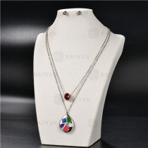 Collar Multicapa en AceroSSNEG126-4904