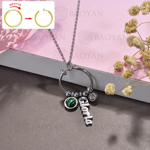 collar de DIY en acero inoxidable -SSNEG143-15520